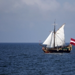 LIBAVA Historical Ship Replica Liepaja Latvia