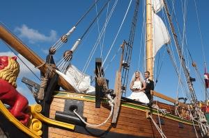 Свадьба на корабле в Юрмале