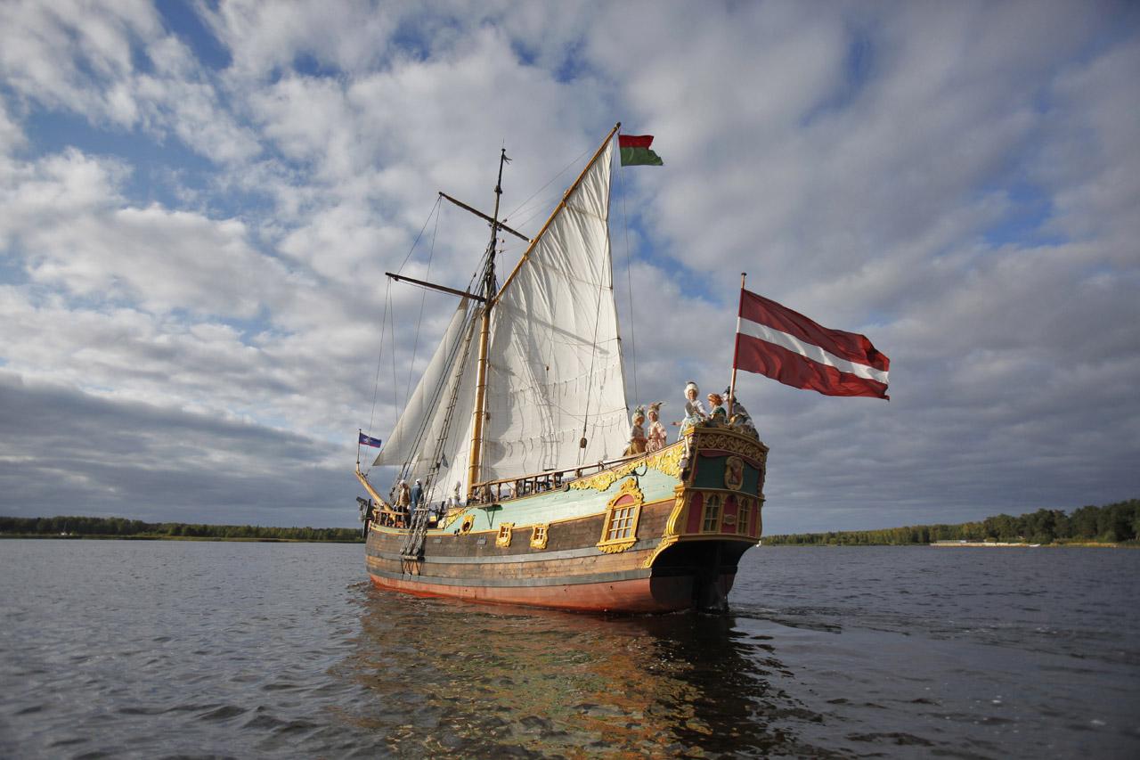 Юрмала Рига прогулка на яхте Либава